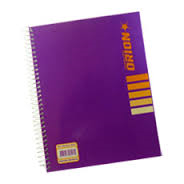 Cuaderno Orion T/f C/índice Cosido X 30 Hjs 301