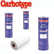 Rollo Fax Carbotype 210mm X 30 Mts